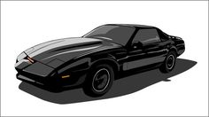 Vector KITT by moonphantom.deviantart.com on @DeviantArt