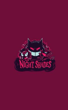 Pokemon night shades iPhone 5 wallpaper