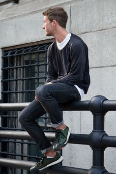 Men's Street Style Outfits For Cool Guys (34)