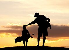 Golf...love this pic, makes me think of my boys! I can only hope they learn to love the game half as much as I do!
