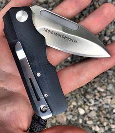 Columbia River Knife & Tool CRKT 6520 Liong Mah Design #5 EDC Folder Pocket Knife Blade