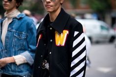 Off White collage jacket
