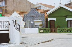 more houses in Costa Nova, Aveiro, Portugal.