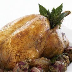 Roast Turkey with Spiked Gravy