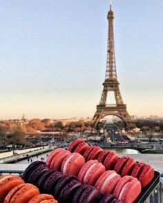 France and macaroons
