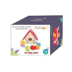 Petilou My Little Bird House Shape Sorter $29 direct toys