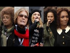 Voices of the Women's March: Angela Davis, Gloria Steinem, Madonna, Alicia Keys, Janet Mock & More - YouTube