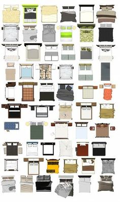 Free Photoshop PSD Bed Blocks 1 | Free Cad Blocks & Drawings Download Center