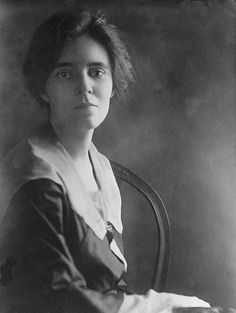Alice Paul, suffragist, founder of the National Woman's Party, and author of the Equal Rights Amendment
