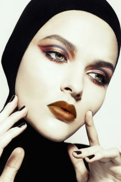 Dark Beauty Mag | Alexandra Zotova | Olga Selivanova | Makeup: Yulia Zubareva