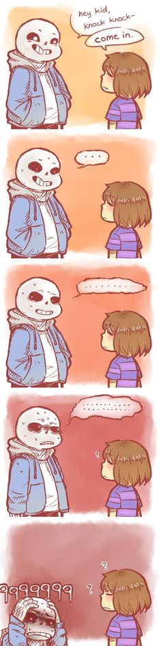 hocho-ocha: the only way to beat sans in a pacifist run: kill one of his jokes