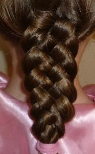 5-Strand braid- Enough of a mop to do this!!!