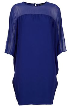 Clean Crepe Oversized Dress by TopShop