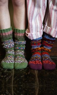 Cornish socks - Plümo Autumn/Winter 2013