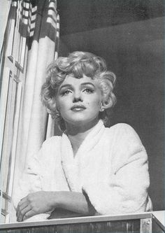 Marilyn deep in thought