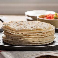 How to make the best gluten free flour tortillas | vegan, too | Gluten Free on a Shoestring Wheat Free Recipes, Dairy Free Recipes, Bread Recipes, Tortilla Recipes, Healthy Recipes, Gluten Free Flour, Gluten Free Baking, Vegan Gluten Free, Bread Baking