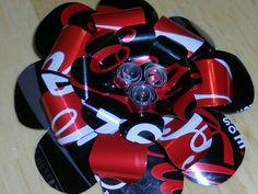 Coca Cola hair bow...