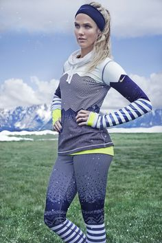 Olympians Silje Norendal, Sarah Hendrickson and Cai Xuetong introduce their Nike+ Training Club high intensity workout. X Games, Athletic Body, Athletic Women, Silje Norendal, High Intensity Workout, Snow Fashion, Athletic Fashion, Sporty Style, Dream Team