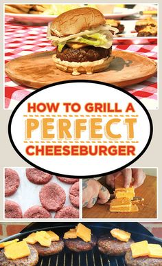 How To Grill A Perfect Cheeseburger (on a Martin's Potato Roll)