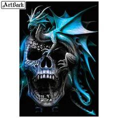Tattoo dragon skull fantasy art 23 New Ideas Dragon Tattoo Pictures, Skull Pictures, Dragon Pictures, Dark Fantasy Art, Dark Art, Skull Artwork, Dragon Artwork, Skull Tattoo Design, Dragon Tattoo Designs
