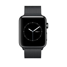 Buy Apple Watch Series 2 42mm Smartwatch (Space Black Stainless Steel Case, Space Black Milanese Loop Band) NEW for 1137 USD | Reusell
