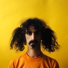 Frank Zappa. Now on iTunes. Still weird.