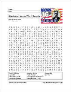 Abraham Lincoln Printables
