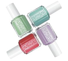 Add some spring time colors to your nails! Essie's newest collection on the blog now!