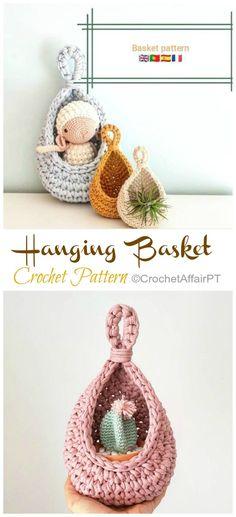 Crochet basket 358036239129983107 - Hanging Sack Basket Crochet Free Pattern – Crochet & Knitting Source by Esztercs Bag Crochet, Crochet Cozy, Crochet Gifts, Crochet Yarn, Crochet Hooks, Free Crochet, Crochet Basket Tutorial, Crochet Basket Pattern, Easy Crochet Patterns