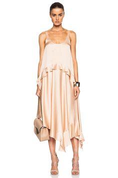 Image 1 of Stella McCartney Long Dress in Powder