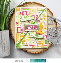 Got Joy Creations - by Dana Joy: Concord & October Release Crafty Turnabout Bundle Fun Diy Crafts, Paper Crafts, Friend Crafts, Concord And 9th, Cards For Friends, Hero Arts, Cute Cards, Fun Projects, Making Ideas