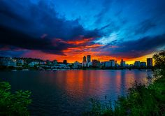 Sunset ~ Portland, Oregon
