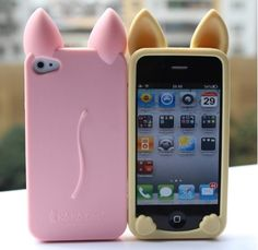 Koko Cat Exquisite Silica Gel Case for iPhone4 and 4s - Apple Accessories - Funny Gadgets Free shipping