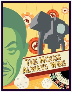 House, one of my favorite villans of all time - Fallout New Vegas Fallout Posters, Fallout Art, Fallout New Vegas, Fallout Cosplay, Nuclear Winter, Bethesda Games, World On Fire, Post Apocalypse, Fanart