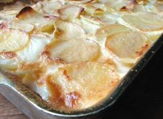 "Scalloped potatoes – gotta love 'em. Potatoes, butter, and milk, baked into a bubbly, golden pan of ""I'll have some more of those potatoes, please"" – what's not to like? When's the last time you made scalloped potatoes? Last week? Christmas? Never? With Easter on the way, now's the time to brush up your scalloping &"