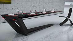 Great 'blade thin carbon fibre table' - Monolito