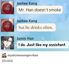 Jumin no curr bout your feelings