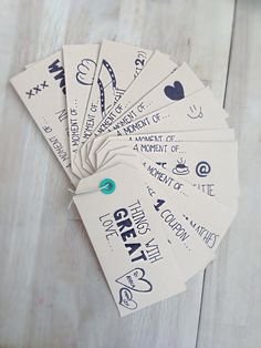 Trip down memory lane with DIY coupons as a present for my best friend.