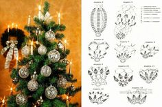 Con i gomitoli di Tommy...: Decorare l'albero di Natale all'uncinetto