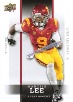 2014 Marquise Lee, USC, Upper Deck Rookies #2 http://www.rcsportscards.com/usc-trojans-football-cards.html