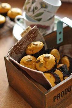 「かぼちゃマフィン」vivian | お菓子・パンのレシピや作り方【cotta*コッタ】