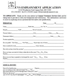 Walmart Application For Employment  TemplatesForms