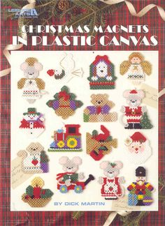 Kitty Covers in Plastic Canvas Pattern Leisure Arts Leaflet 1417 for sale online Plastic Canvas Ornaments, Plastic Canvas Christmas, Plastic Canvas Crafts, Plastic Canvas Patterns, Pattern Books, Craft Patterns, Crafts To Make, Christmas Crafts, Christmas Patterns