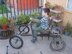 Quadricycle For Sale - Great 4 Wheel Bicycle! - YouTube