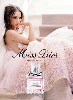 Publicité du parfum Miss Dior Blooming Bouquet de Christian Dior
