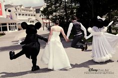 This groom was jumping for joy at his wedding- literally! #Disney #boardwalk #Mickey