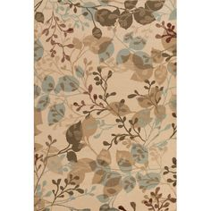 "Alcott Hill Lonsdale Raw Umber/Beige Area Rug Rug Size: 7'9"" x 11'2"""