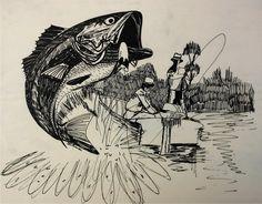 Turbo's fishing trip! Paint Paint, Turbo S, Watercolors, Fishing, Paintings, House, Inspiration, Art, Biblical Inspiration