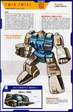 Transformers Universe - Gallery: G1 Topspin & Twin Twist