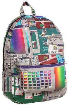 Windows 95 Backpack Proves You Are Definitely A PC Windows 95, Moda Instagram, Rucksack Bag, Backpack Bags, Steam Punk, Mochila Retro, Harajuku, Grunge, Doja Cat